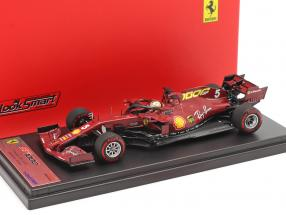 S. Vettel Ferrari SF1000 #5 1000th GP Ferrari Toskana GP F1 2020 1:43 LookSmart