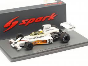 Jody Scheckter McLaren M23 #30 Großbritannien GP Formel 1 1973 1:43 Spark