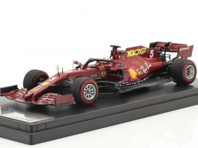 S. Vettel Ferrari SF1000 #5 1000th GP Ferrari Tuscany GP F1 2020 1:43 LookSmart