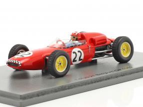 Jo Siffert Lotus 21 #22 Belgian GP formula 1 1961 1:43 Spark