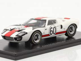 Ford GT40 #60 24h LeMans 1966 Ickx, Neerpasch 1:43 Spark