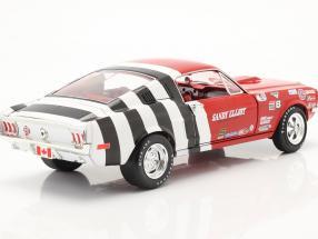 Ford Mustang Fastback Sandy Elliott 1968 red / white / black