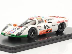 Porsche 907 #49 Sieger P2.0-Klasse 24h LeMans 1971 Brun, Mattli 1:43 Spark