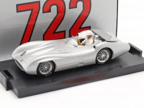 Stirling Moss Mercedes-Benz W196C Test Monza Formel 1 1955 1:43 Brumm