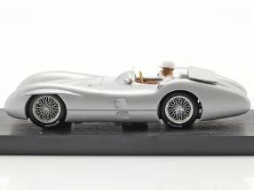 Stirling Moss Mercedes-Benz W196C Test Monza formula 1 1955