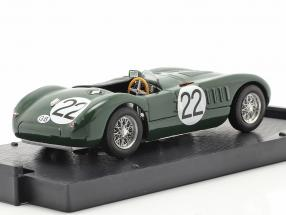 Jaguar C-Type #22 24h LeMans 1951 Moss, Fairman