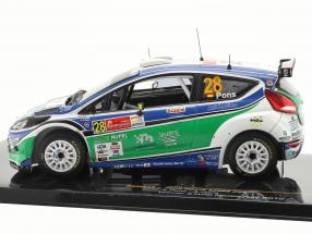 Ford Fiesta S2000 #28 X.Pons / A.Haro Winner S-WRC Mexico Rally 2010