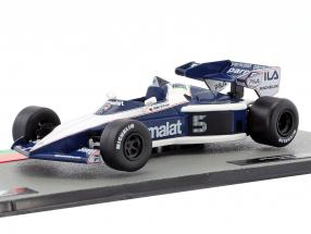Nelson Piquet Brabham BT52B #5 formula 1 World Champion 1983 1:43 Altaya