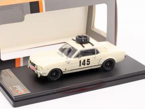 Ford Mustang #145 rally Monte Carlo 1966 Chemin, Trintignant 1:43 Ixo
