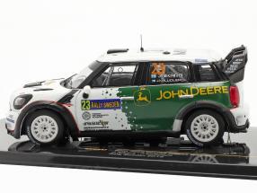 Mini John Cooper Works WRC #23 rally Schweden 2013 Nikara, Kalliolepo