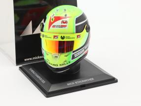 Mick Schumacher Prema Racing #20 Formel 2 Champion 2020 Helm 1:4 Schuberth