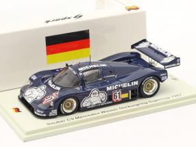 Sauber C9 #61 Winner Supersprint Nürburgring Supercup 1987 Schlesser 1:43 Spark