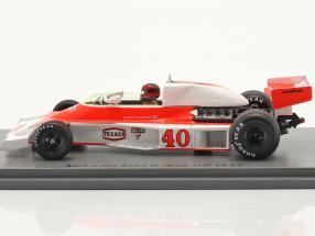 Gilles Villeneuve McLaren MCL23 #40 British GP formula 1 1977