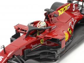 S. Vettel Ferrari SF1000 #5 1000th GP Ferrari Tuscan GP F1 2020