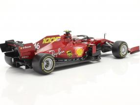 C. Leclerc Ferrari SF1000 #16 1000th GP Ferrari Tuscan GP F1 2020
