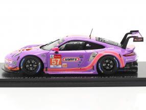 Porsche 911 RSR #57 24h LeMans 2020 Team Project 1