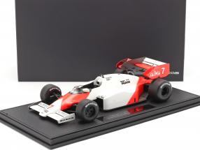 Alain Prost McLaren MP4/2 #7 formula 1 1984 1:18 with showcase GP Replicas