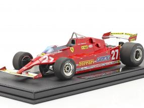 G. Villeneuve Ferrari 126CX #27 Practice USA west GP formula 1 1981 1:18 GP Replicas