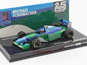 M. Schumacher Benetton B194 #5 Winner Canada F1 World Champion 1994 1:43 Minichamps