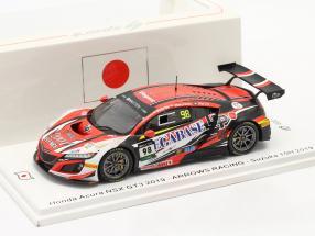Honda Acura NSX GT3 #98 10h Suzuka 2019 Ma, Liu, Yeung 1:43 Spark