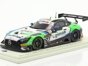 Mercedes-Benz AMG GT3 #77 5th 12h Bathurst 2020 Buurman, Engel, Stolz 1:43 Spark