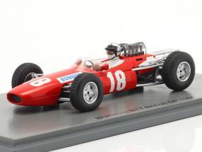Joakim Bonnier Brabham BT7 #18 Großbritannien GP Formel 1 1966 1:43 Spark