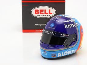 Fernando Alonso #10 Winner 24h Daytona 2019 helmet 1:2 Bell