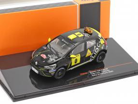 Renault Clio Rally #0 Advance vehicle Rallye Monte Carlo 2020 Bernardi, Bellotto 1:43 Ixo