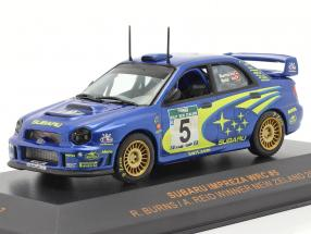 Subaru Impreza WRC #5 winner rally New Zealand 2001 Burns, Reid 1:43 Ixo
