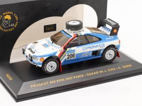 Peugeot 405 #206 Paris - Dakar 1989 Ickx, Tarin 1:43 Ixo