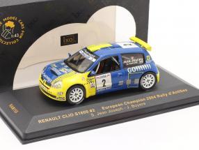 Renault Clio S1600 #2 rally d' Antibes 2004 Jean Joseph, Boyere 1:43 Ixo