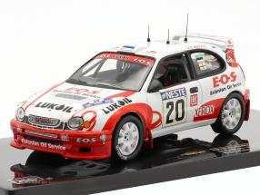 Toyota Corolla WRC #20 rally Finnland 2000 Märtin, Park 1:43 Ixo