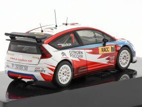 Citroen C4 WRC #7 rally Catalunya 2009 Novikov, Prevot