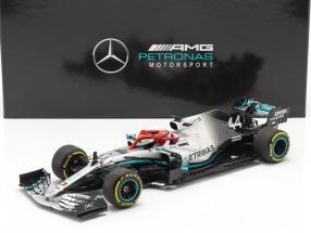 L. Hamilton Mercedes-AMG F1 W10 #44 Monaco GP F1 World Champion 2019 1:18 Minichamps