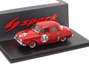 Renault Dauphine #66 12h Sebring 1957 Frere, Lucas 1:43 Spark