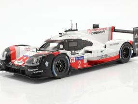 2-Car Set with book: Porsche 919 Hybrid #1 #2 winner 24h LeMans 2017 1:18 Ixo