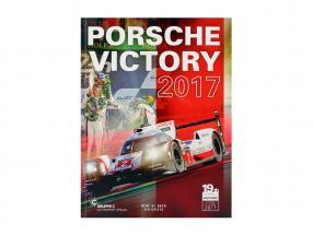 2-Car Set with book: Porsche 919 Hybrid #1 #2 winner 24h LeMans 2017