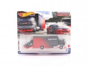 Set Team Transport: Nissan Skyline GT-R (BNR32) & Sakura Sprinter 1:64 HotWheels