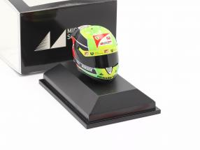 Mick Schumacher Prema Racing #20 formula 2 champion 2020 helmet 1:8 Schuberth