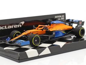 C. Sainz jr. McLaren MCL35 #55 5th Austrian GP formula 1 2020 1:43 Minichamps