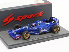 Olivier Panis Ligier JS41 #26 4th Canadian GP formula 1 1995