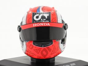 Pierre Gasly #10 Scuderia Alpha Tauri Honda formula 1 2020 helmet 1:5 Spark