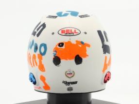 Lando Norris McLaren F1 Team #4 5th British GP formula 1 2020 helmet