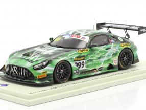 Mercedes-Benz AMG GT3 Evo #999 6th 12h Bathurst 2020 Gruppe M Racing 1:43 Spark