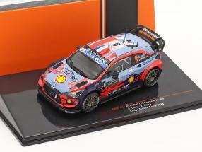 Hyundai i20 Coupe WRC #9 Rally Monte Carlo 2020 Loeb, Elena 1:43 Ixo