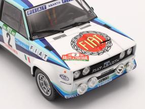 Fiat 131 Abarth #2 2nd Rally Portugal 1980 Alen, Kivimaki