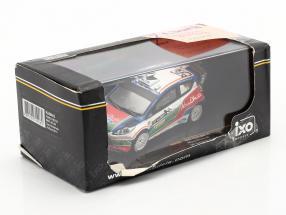 Ford Fiesta WRC #3 UK test Kirkbride Airfield 2011 Simoncelli 1:43 Ixo / 2. choice