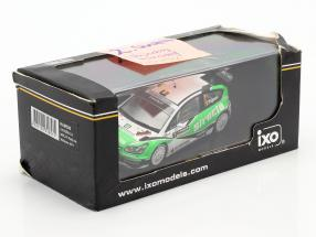 Citroen C4 WRC #1 rally de Wallonie 2011 Tsjoen, Chevaillier 1:43 Ixo / 2nd choice