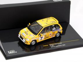 Subaru Vivio RX-R #7 winner rally Safari 1993 Njiru 1:43 Ixo / 2nd choice