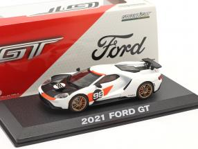 Ford GT #98 year 2021 24h Daytona 1966 Tribute 1:43 Greenlight